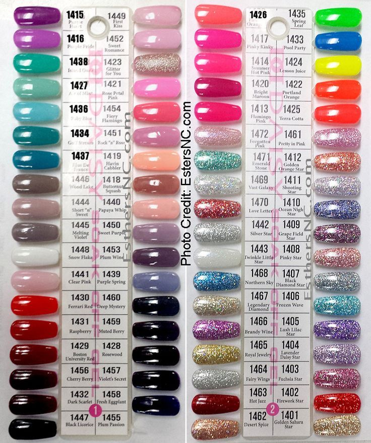 Most Popular Nail Polish Colors: The 25+ Best Shellac Colour Chart Ideas On Pinterest