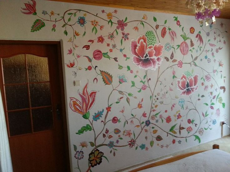 2014 Flowers on the wall