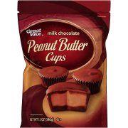 Customer Reviews: Great Value: Peanut Butter Milk Chocolate Cups, 12 Oz - Walmart.com