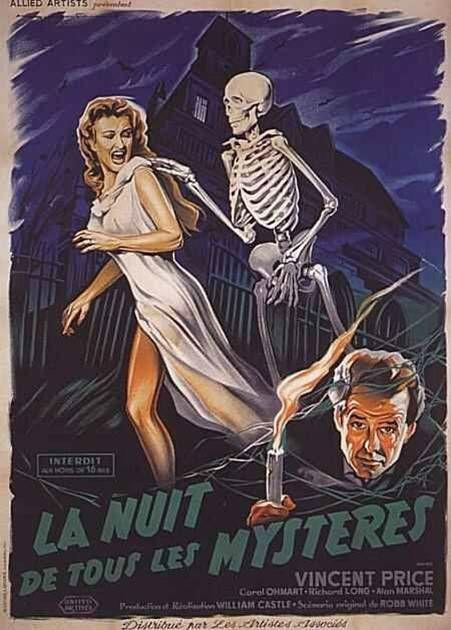La Nuit de tous les Mystères - 1959 (Oserez-vous entrer dans cette maison hantée