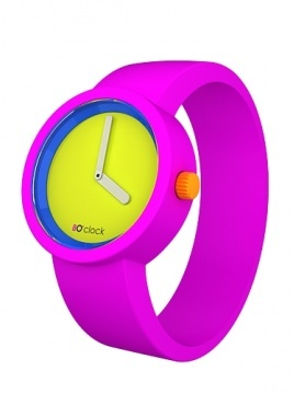 8O,clock/Fluo Pink