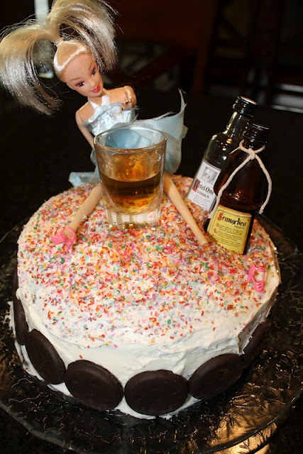 Neighbor Chick's: Barbie Doll Cake for friend's bachelorette parties?