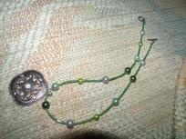 Gorgeous Handmade Glass Beaded Necklace I pay shipping and buyers fees