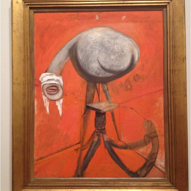 Francis Bacon. Wow. Awesome.