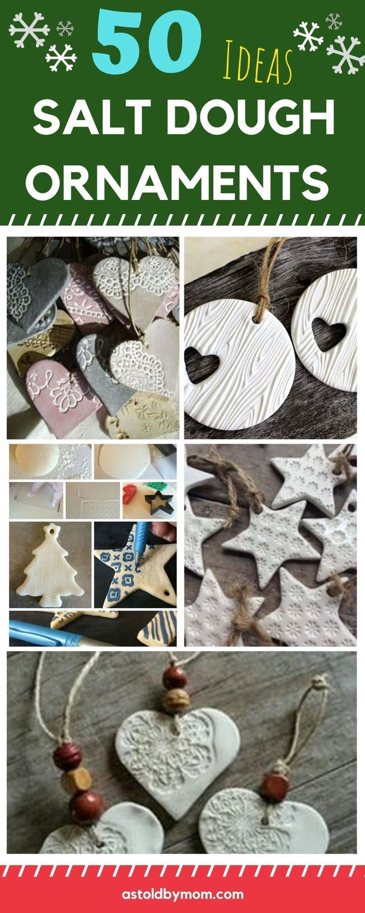 50 Salt Dough Ornaments Christmas Decorations As Told By Mom Salt Dough Christmas Ornaments Christmas Crafts Diy Christmas Crafts For Adults