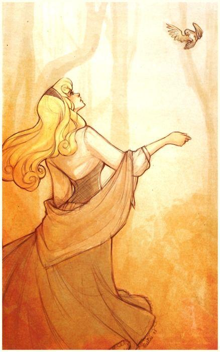Sleeping Beauty fan art