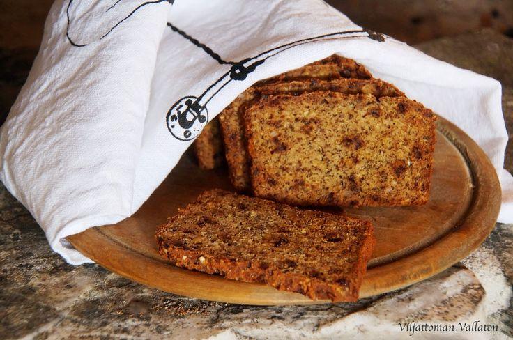 Viljattoman Vallaton: Gluteeniton taateliolutleipä