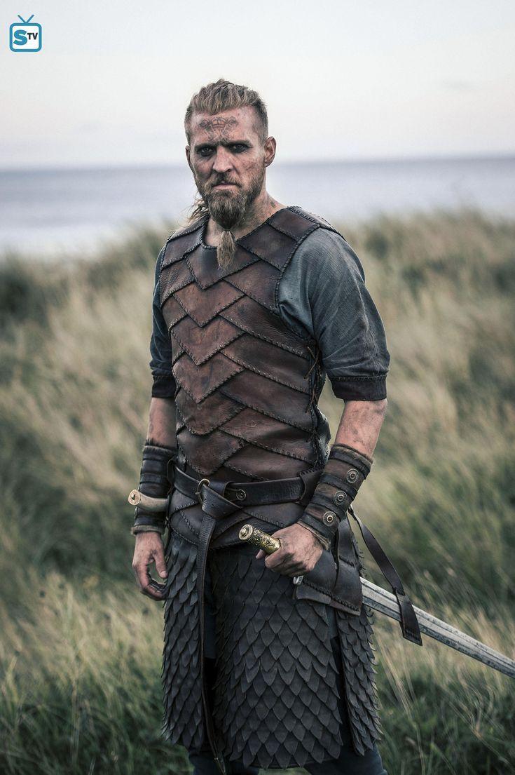 viking costume larp fur vest 2xl