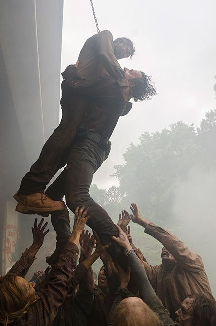 The Walking Dead Season 7 Ep.1 Rick Grimes ( Andrew Lincoln) in Episode 1 Photo by Gene Page/AMC