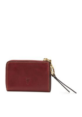 Frye Ilana Harness Small Zip Wallet - Wine - One Size