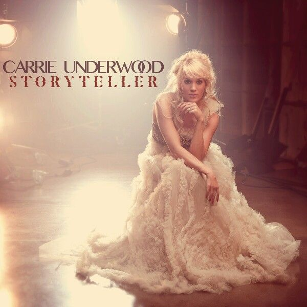 "Carrie Underwood ""Storyteller"" fanmade album cover by me 1.0"