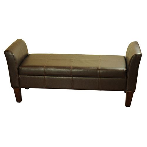 Found it at Wayfair Supply - Two Seat Bench with Storage