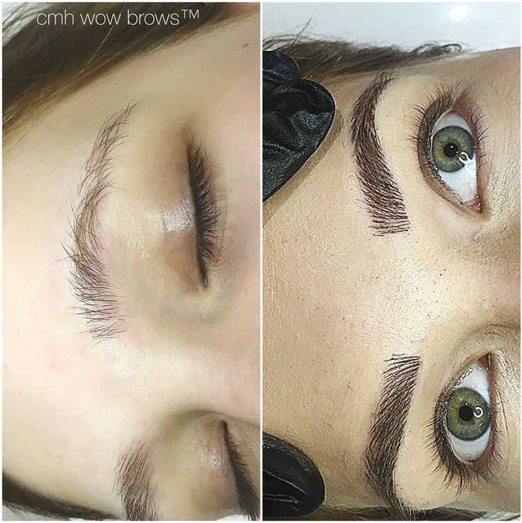 Natural Eyebrow Tattooing Hair stroke / Feather Touch / Microblading / Microstroke  www.cmh-wowbrows.com