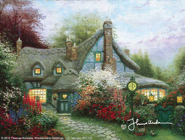 Sweetheart Cottage by Thomas Kinkade