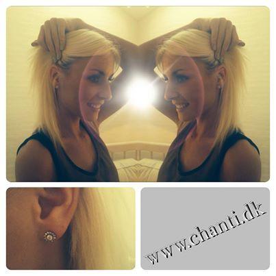 Malene Sandgaard from danish Paradise Hotel with CHANTI jewellery #chanti #malenesandgaard #jewelry #jewellery #smykker #paradisehotel #chantijewellery #kirstendyrum