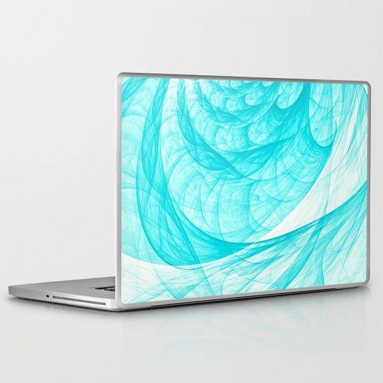 Aqua Marine Waves Laptop & iPad Skin on @society6 by @photography_art_decor   All product available: https://society6.com/oxygen/prints?show=new  #OksanaAriskina #Artworks #HomeDecor #FineArtPrints #FineArtAbstract #Abstract #ArtForSale #BuyArtOnline#abstract #sea #aqua #marine #blue #tender #beach #holiday #summer #vacation #fractal #wave #curve #twist #curl #twirl #spiral