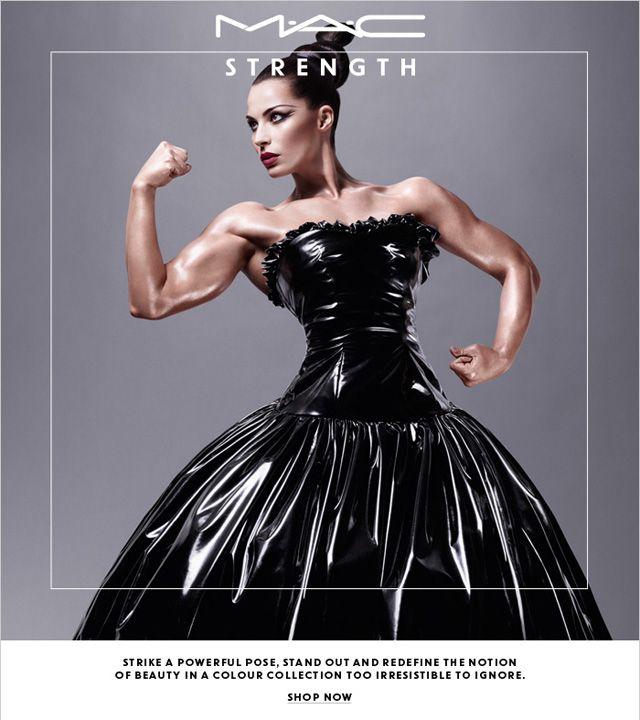 MAC cosmetics campaign  Jelena Abbou