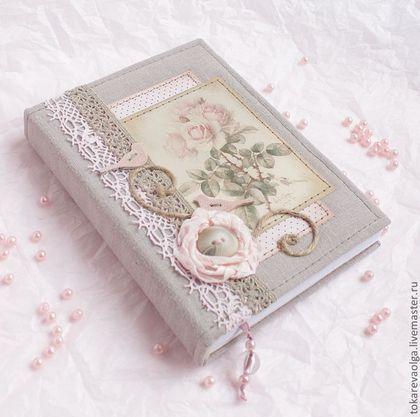 Блокноты ручной работы. Ярмарка Мастеров - ручная работа Блокнот ручной работы «Розовые мечты». Handmade.