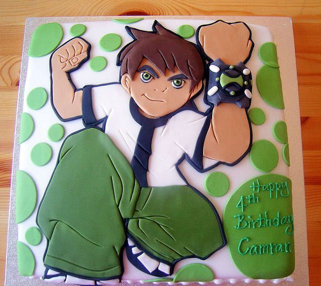 17 Best Images About Ben 10 Cakes On Pinterest