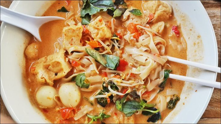 HOTEI LAKSA  MALAYSIA  Rice Noodle with Coconut Milk
