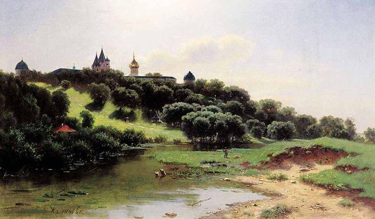 Каменев Лев Львович. Савино-Сторожевский монастырь под Звенигородом Lev Kamenev