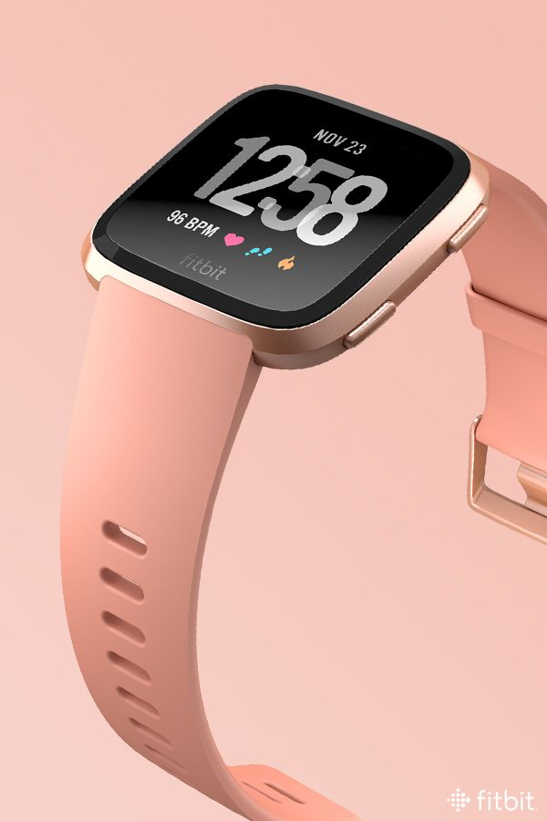 Warm Tones Never Looked This Cool Pair Fitbit Versa In A Rose