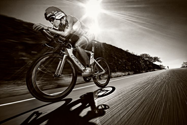 Bike action with Mirinda Crafrae