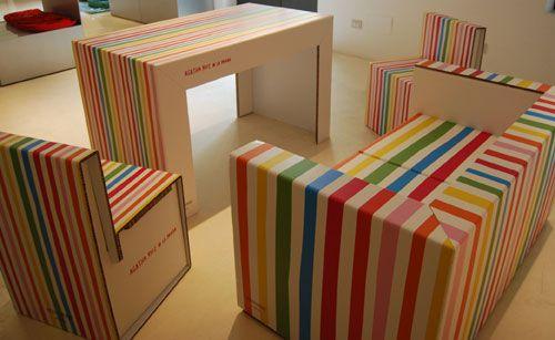 Oltre 1000 idee su mobili a righe su pinterest parete for Arredi ecologici