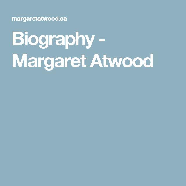 Biography - Margaret Atwood
