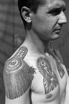 © Sergei Vasiliev/FUEL - Russian Criminal Tattoo Archive