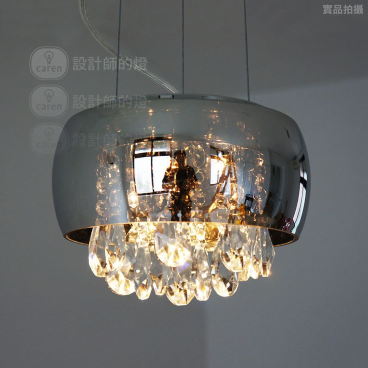 Brief Modern Bedside Entranceway Table Lamp Crystal Teardrop Pendant Light Mirror Free Shipping 87 00