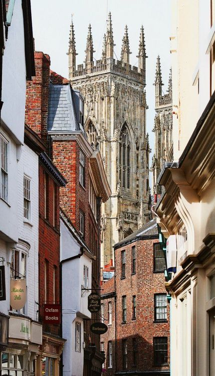 York Minster, York, England - was here last week and it was beautiful.