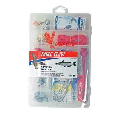Catfish Tackle 38 PC Kit