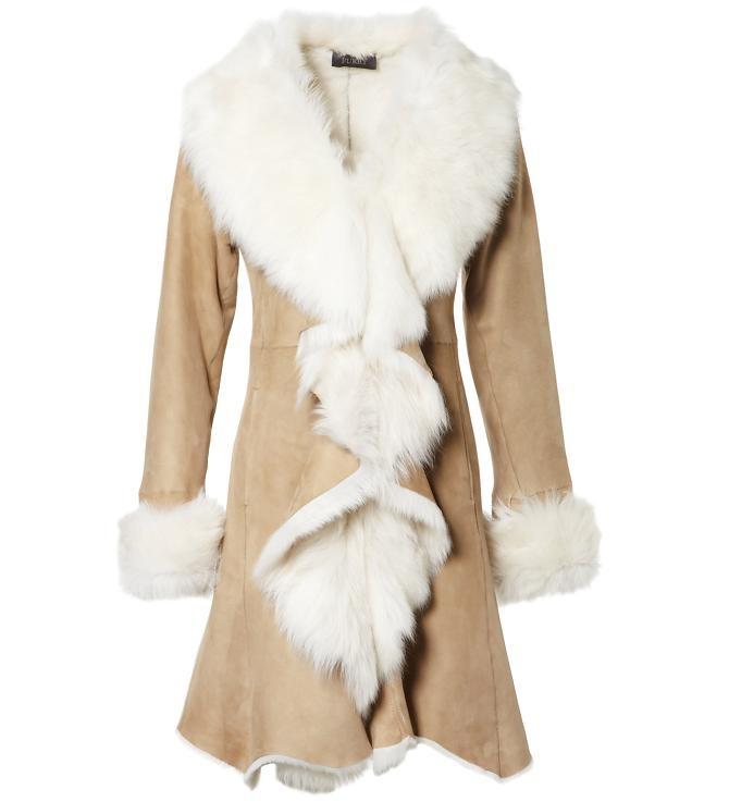 Lamb  Beige / White Coat