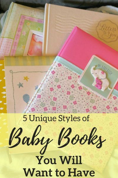 5 Unique Styles of Baby Books You Will Want to Have