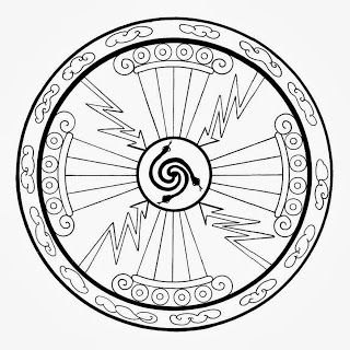 water mandala coloring pages | 27 best Mandalas images on Pinterest | Sacred geometry ...