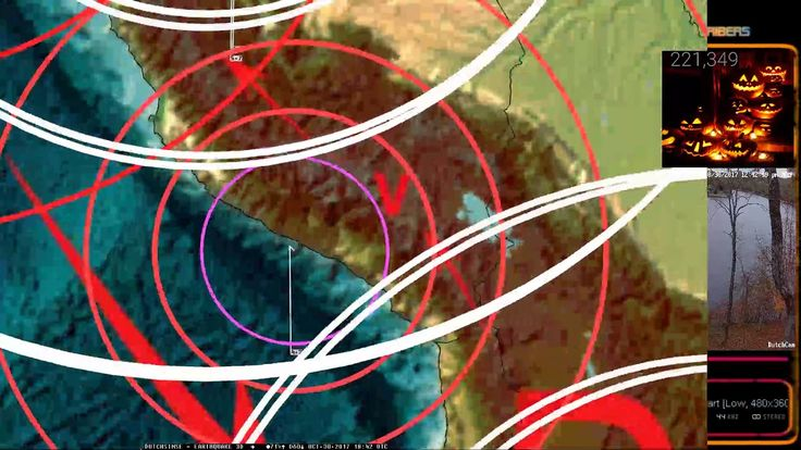 10/30/2017 -- VERY LARGE M8.4 earthquake reported in the Rainforests of ...