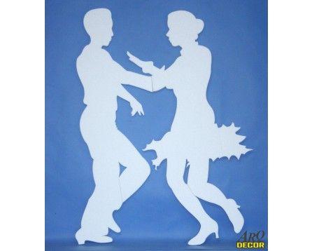 Tańcząca Para 01 - Dekoracje Styropianowe (NA ZAMÓWIENIE) - ARQ - DECOR | Pracowania Dekoracji ARQ DECOR