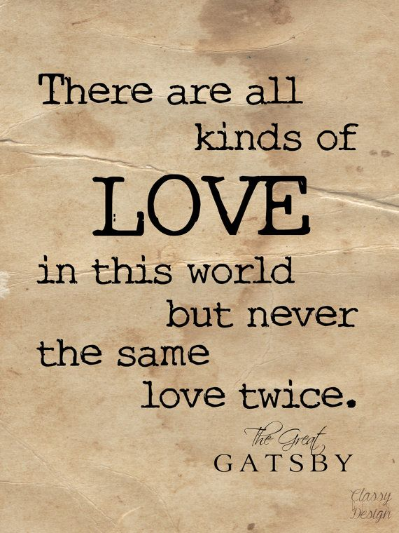 Quotes About Love Great Gatsby : Great Gatsby Quotes on Pinterest Gatsby quotes, The great gatsby ...