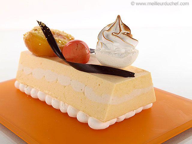 Peach, Apricot & Meringue Ingot Cake #Tastebudladies #Exoticbaking