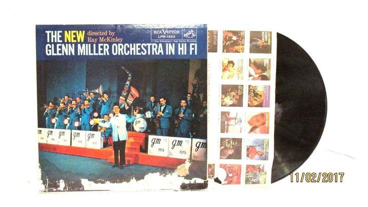 1957 Glenn Miller  In HIFI RCA Victor Vinyl LP 33 LPM 1522 Big Band  #BigBandSwing