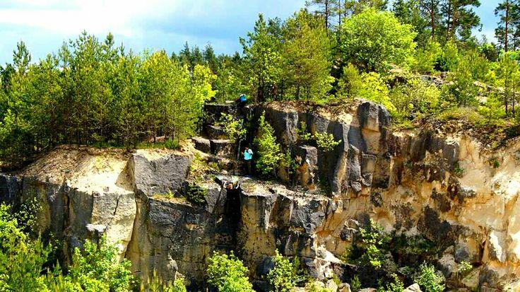 Kamieniołom Józefów, lubelskie #kamieniołom #lubelskie #Józefów #stone #quarry #Poland #Polska