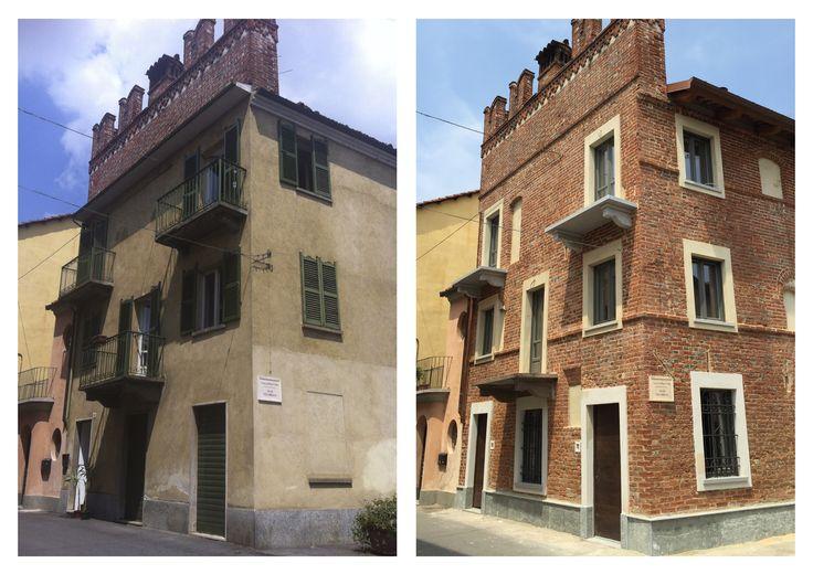 Restauro conservativo di edificio medievale #ristrutturazione #architettura