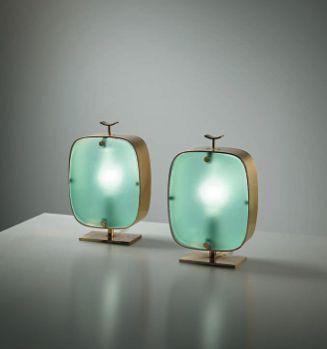ART DECO LAMPS- Philips London September Design Auction