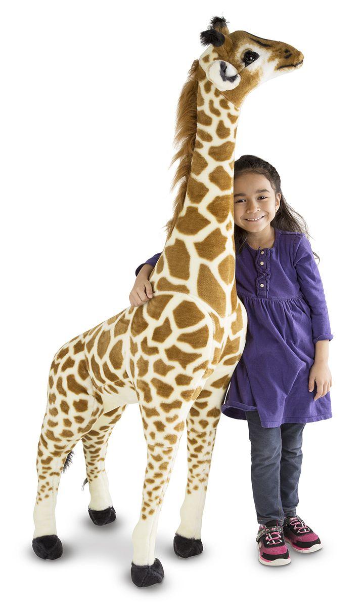 Wat is het toch een plaatje deze grote knuffel giraffe van Melissa and Doug! De giraffe is circa 140 cm groot. Het is een geweldige aanvulling in elk interieur. Aan elke authentieke details zijn gedacht en is gemaakt van een zeer uitstekende kwaliteit. Garant voor jaren lang plezier van deze prachtige pluche giraffe.