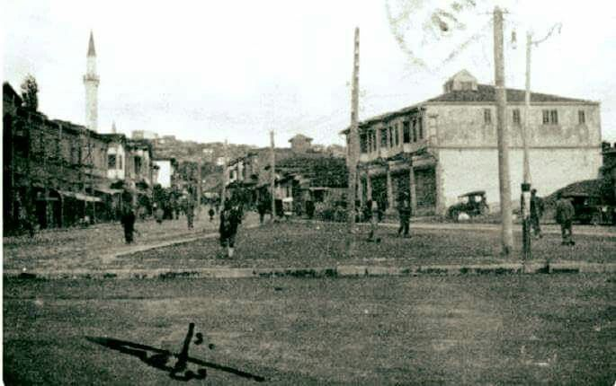 Heykel yapïlmadan önce. Ulus Meydanı ANKARA