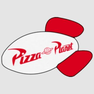 pizza planet logo from toy story