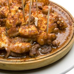 Χταποδάκι με μέλι και κρόκο Κοζάνης - gourmed.gr