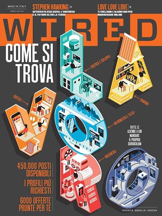 Wireed Italia Gosto mto das capas da Wired...
