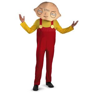 family halloween costumes with baby | Family GUY Stewie Baby Funny Mens Halloween Costume | eBay